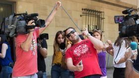 'El Prenda', el pasado viernes, en los juzgados de Sevilla.
