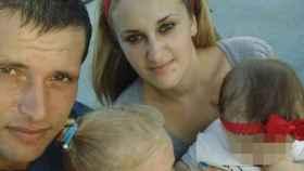 Cristina y su presunto asesino, el padre de sus hijas.
