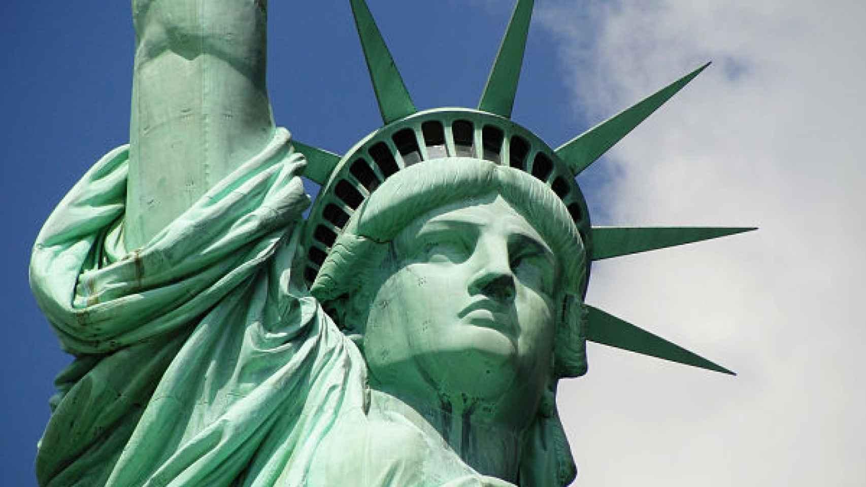 La Estatua de la Libertad, en Nueva York.
