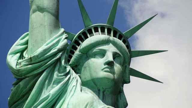 La Estatua de la Libertad de Nueva York, símbolo de EEUU.