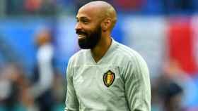 Henry fue el segundo entrenador de Bélgica durante el Mundial.