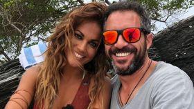 Lara y Edu Blanco en una imagen de las redes sociales.