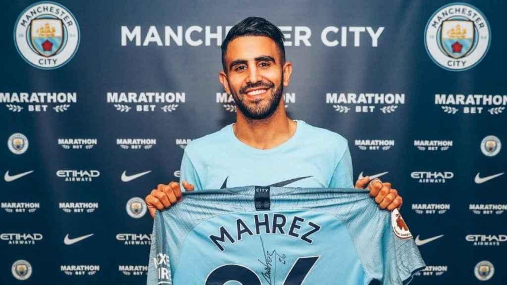 El City hace oficial el fichaje de Mahrez