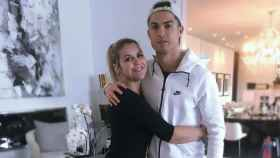 Katia Aveiro y Cristiano. Foto. Instagram (@Katiaaveirooficial)