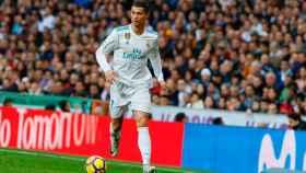 Cristiano Ronaldo, en el Bernabéu Foto: Manu Laya / El Bernabéu