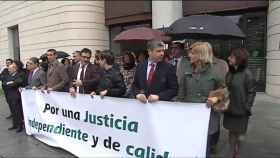 750 jueces presentan una queja por la presión social contra tribunal de La Manada