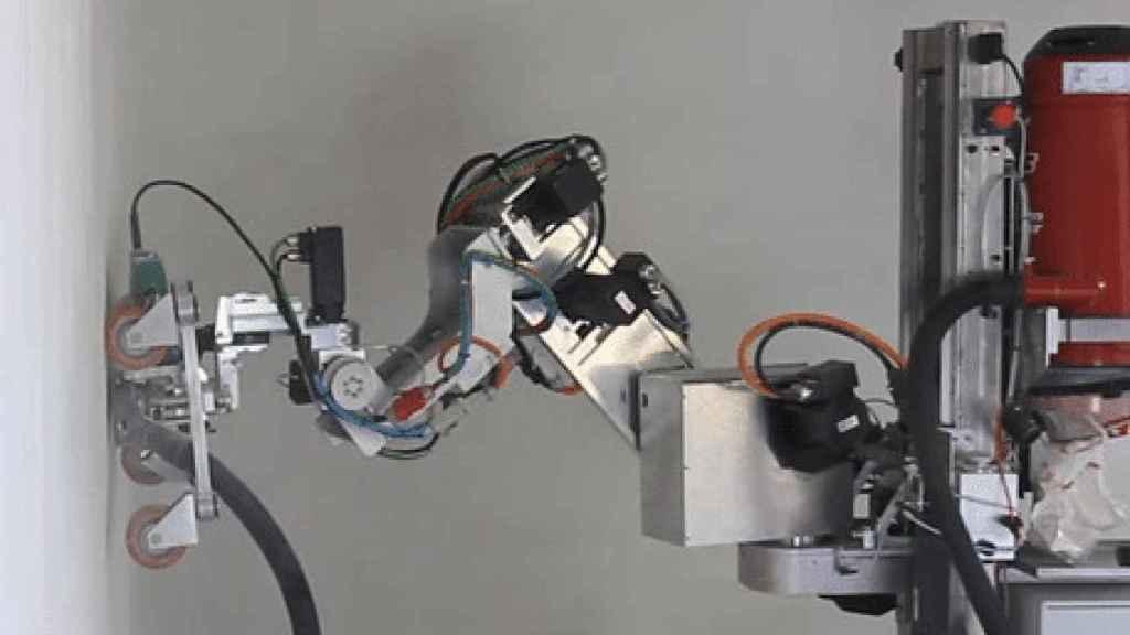 Un robot autónomo para desmantelar estructuras de amianto