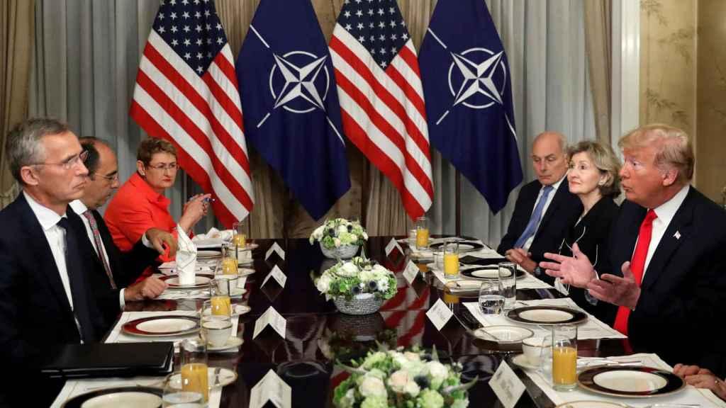 Trump se ha quejado ante Stoltenberg de los acuerdos de Alemania con Rusia
