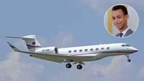 Moulay Hassan, el príncipe marroquí, y su avión personalizado.