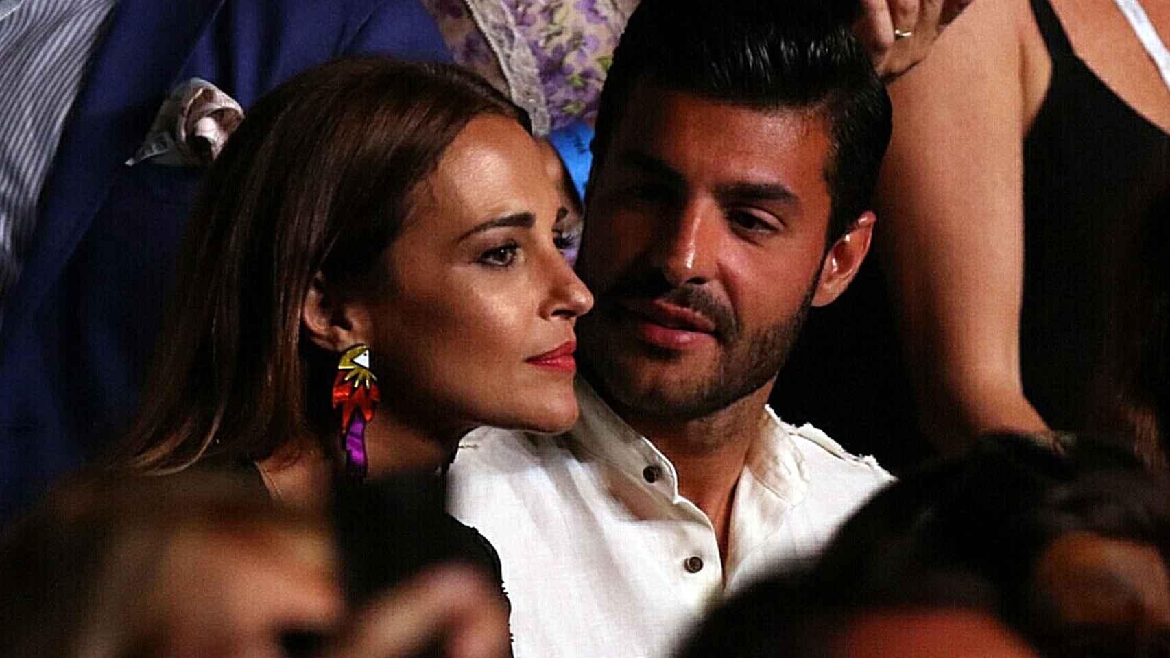Paula Echevarría y Miguel Torres  en el Starlite.