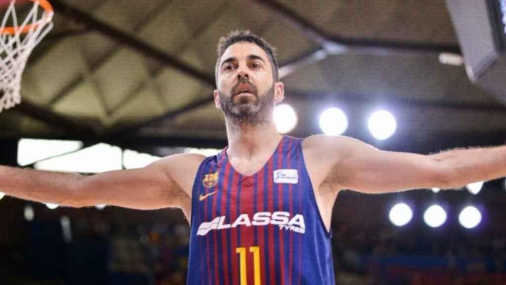 Juan Carlos Navarro. Foto: Twitter (@FCBbasket)