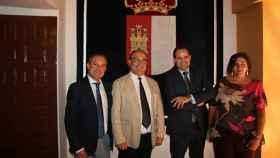 FOTO: El diputado Francisco Núñez junto al alcalde de Tobarra.