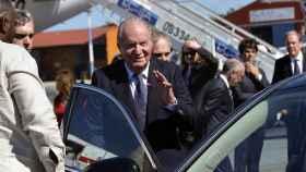 El rey Juan Carlos en una imagen de 2017.