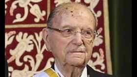 Gerardo Fernádez Albor, expresidente de la Xunta.