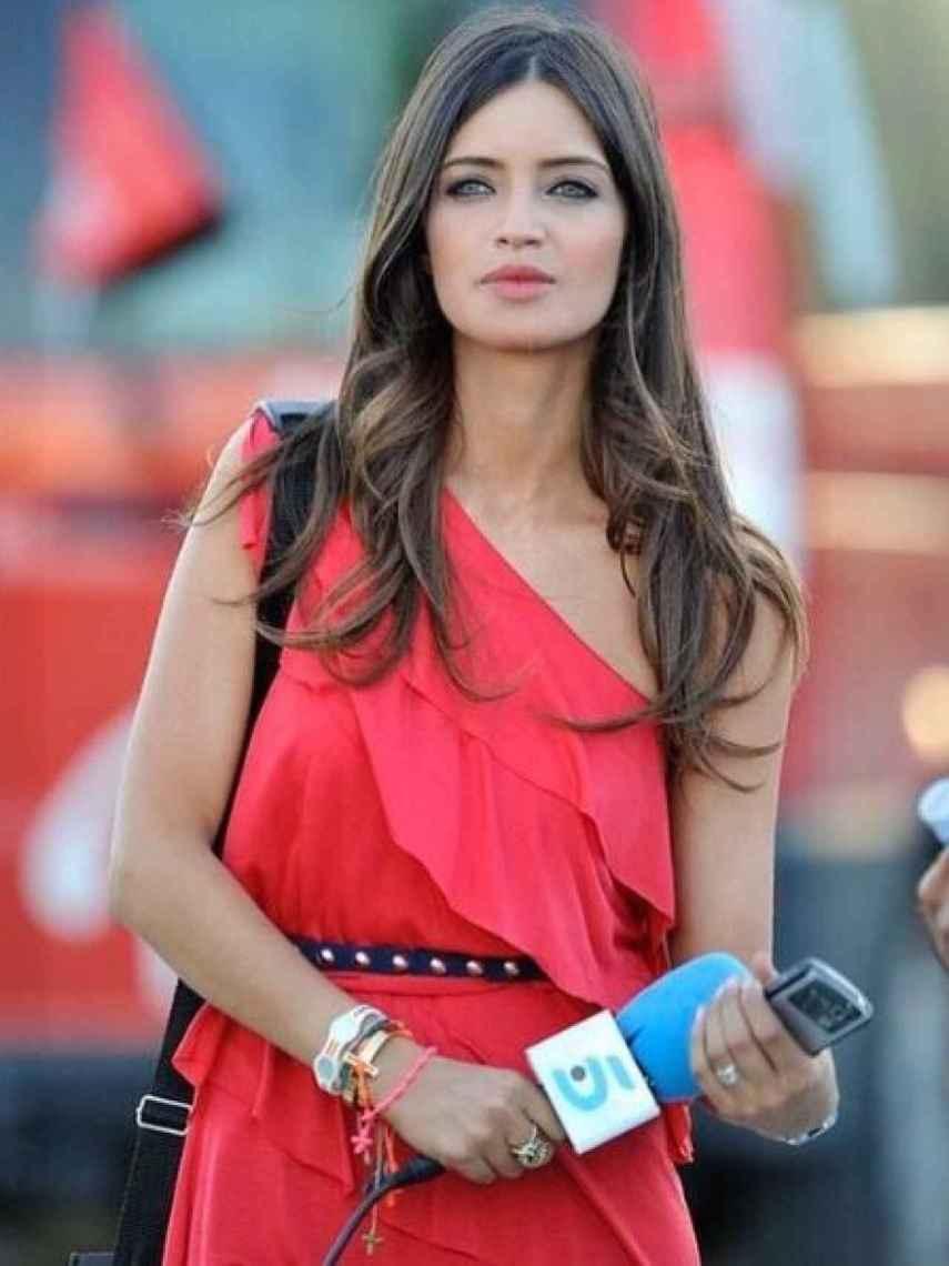 Sara Carbonero ha rescatado una foto del Mundial 2010.