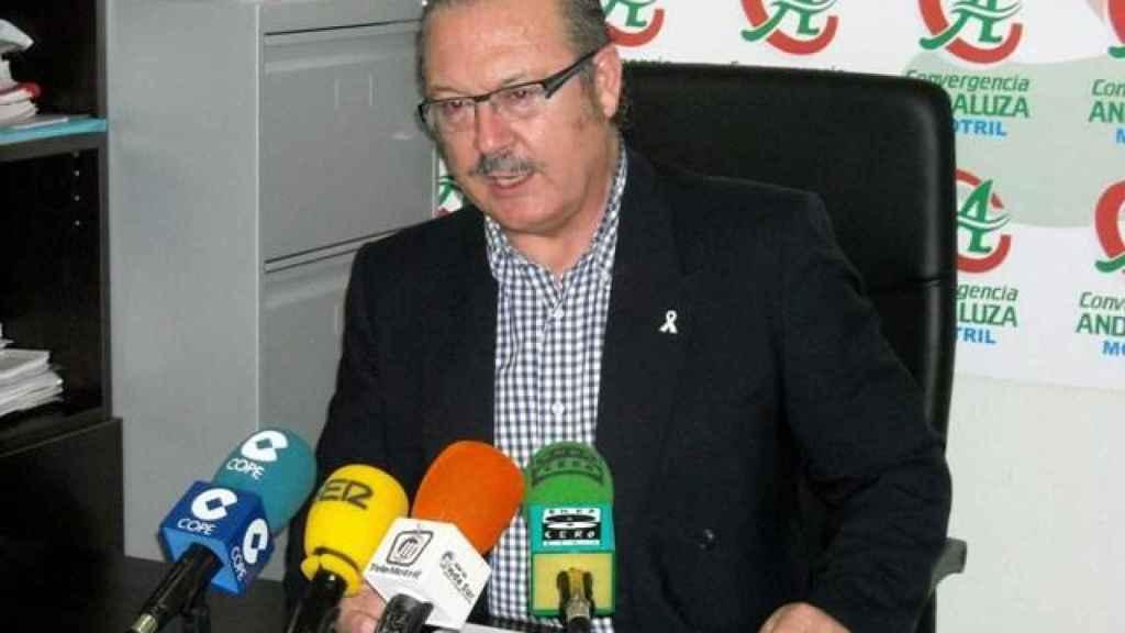 Luis Rubiales padre, con Convergencia andaluz.