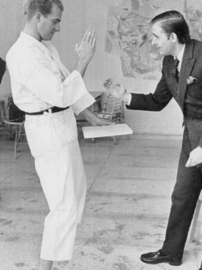 Juan Carlos I y Peñafiel.
