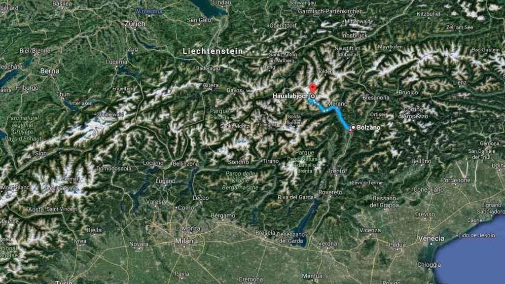 El viaje de Ötzi por el norte de Italia durante 46 años