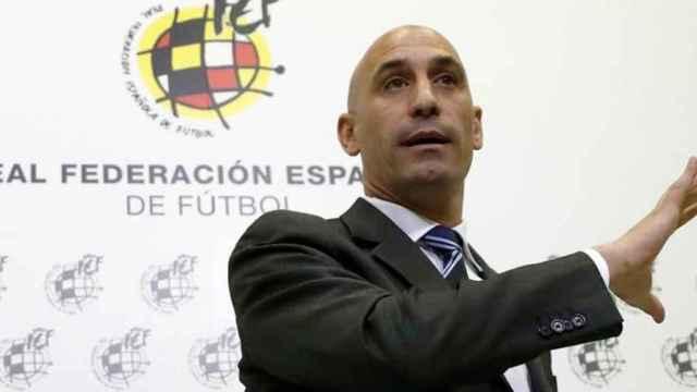 Luis Rubiales, presidente de la RFEF.