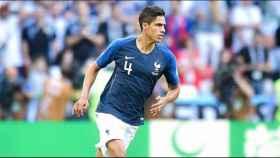 Varane, en el Mundial con Francia