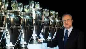 Florentino Pérez coloca La Decimotercera en el Santiago Bernabéu