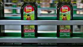 Planta de envase de Carbonell, una de las marcas de Deoleo.