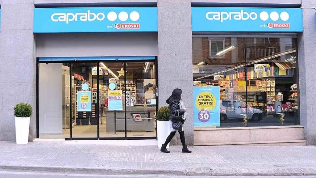 Un supermercado Caprabo.