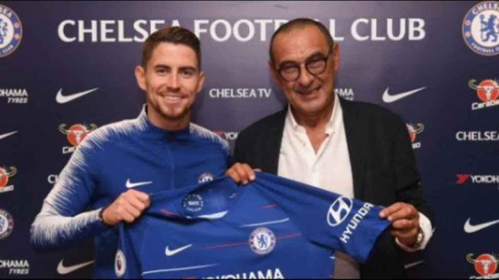 Jorginho, nuevo jugador del Chelsea