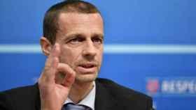 Ceferin, presidente de la UEFA   Foto: uefa.com