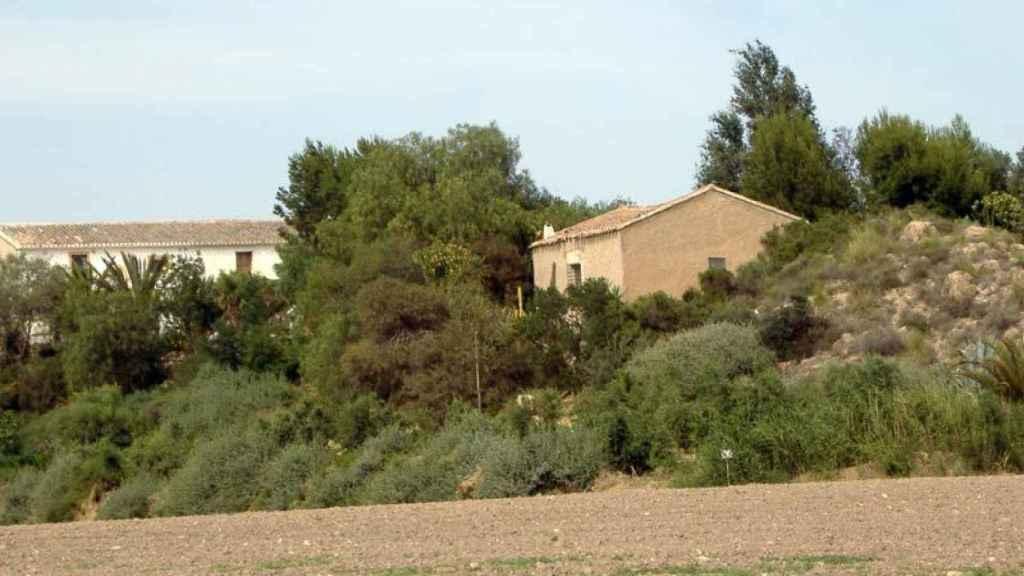 Casa de campo en El Cocón, en Águilas (Murcia).