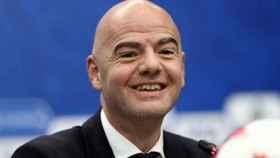 Gianni Infantino, presidente de la FIFA. Foto: fifa.com