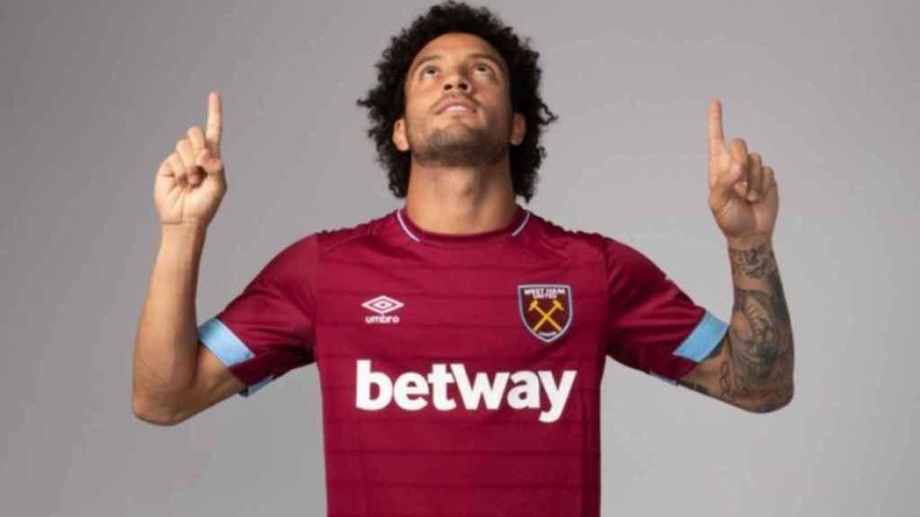 Felipe Anderson, nuevo jugador del West Ham United