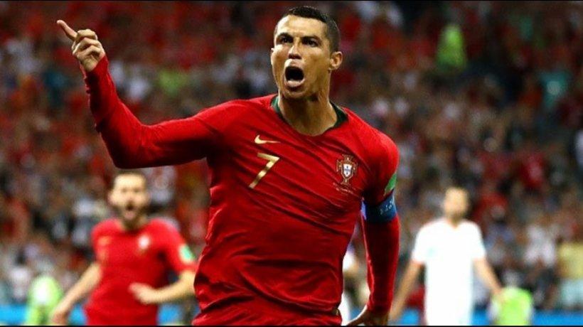Cristiano Ronaldo, con Portugal