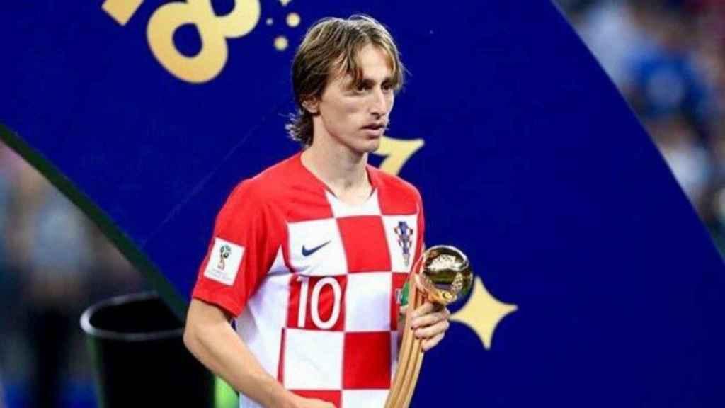 Modric, de la decepción de la final a por el Balón de Oro