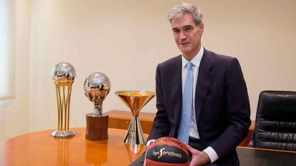Antonio Martin, nuevo presidente de la ACB. Foto: ACB.