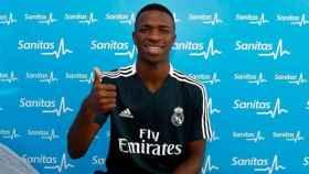 Vinicius pasa reconocimiento médico con el Real Madrid