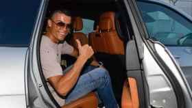Cristiano Ronaldo llega a Turín. Foto juventus.com