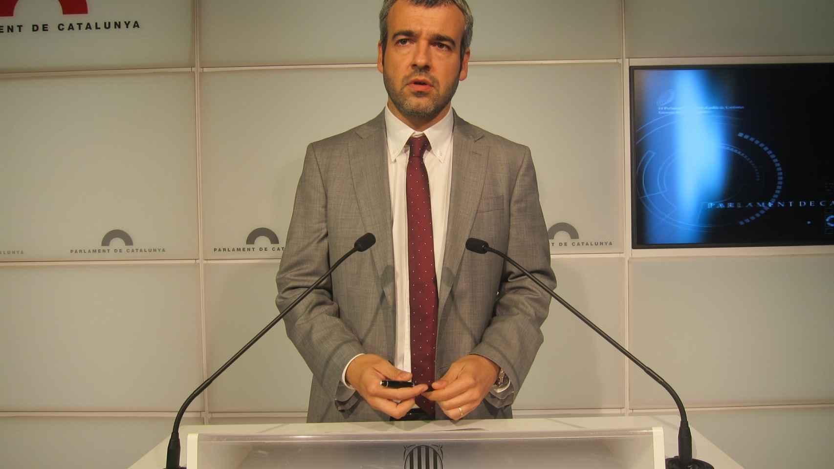 El nuevo presidente de Aena, Maurici Lucena, en una imagen de archivo.