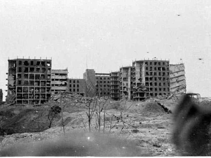 Hospital Clínico tras la Guerra Civil.