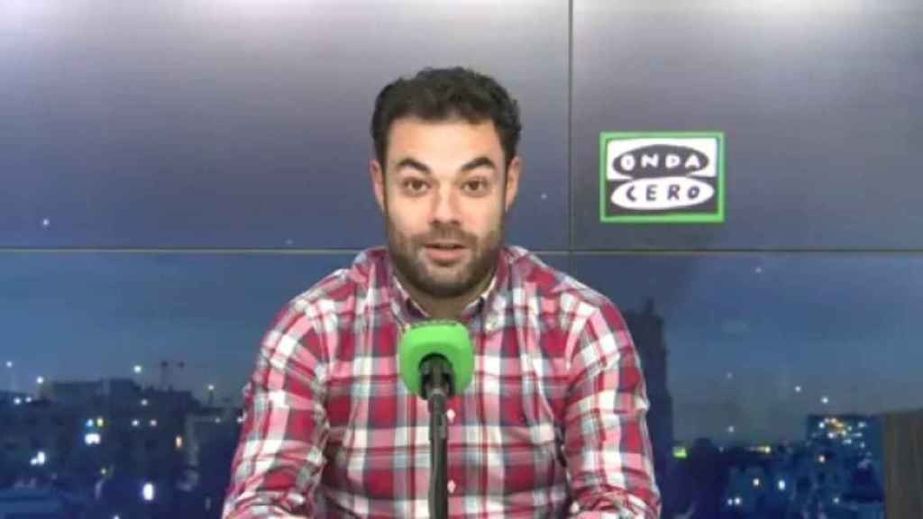 Edu Pidal, en Onda Cero. Foto: ondacero.es