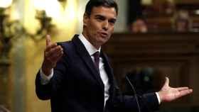 Pedro Sánchez comparece a petición propia en el Congreso
