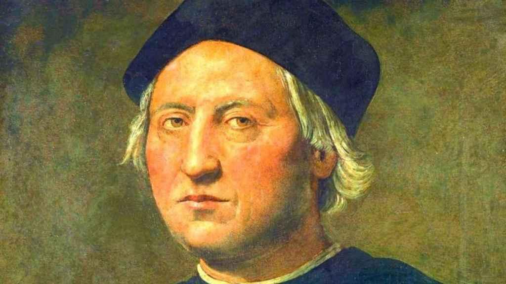 Retrato de Cristóbal Colón.
