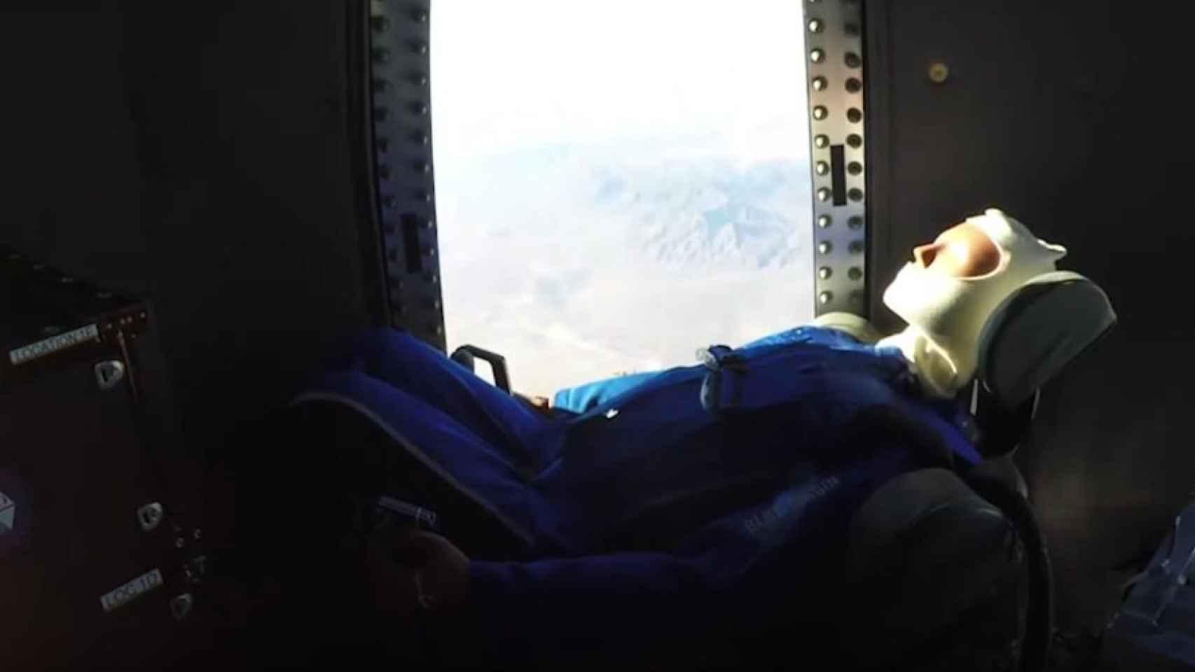 blue origin capsula espacio 1