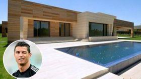 Vista general de una casa prototipo igual a la de Cristiano en La Finca.