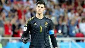Courtois, con Bélgica en el Mundial. Foto. Instagram (@thibautcourtois)
