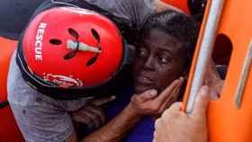 Josefa, la superviviente del naufragio en el Mediterráneo.