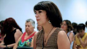 Juana Rivas, en los juzgados de Granada.