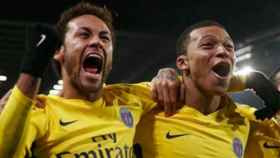 Neymar y Mbappé. Foto Instagram (@kmbappe29)