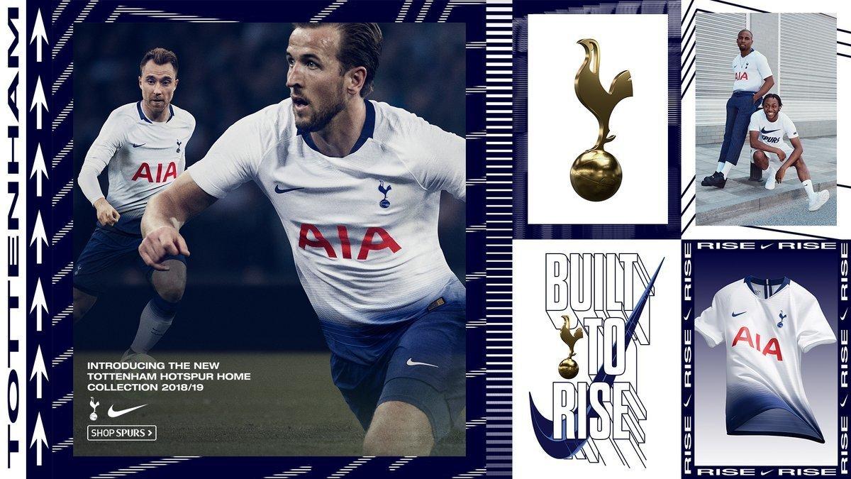 El Tottenham no vende a Kane: reclamo de su nueva camiseta