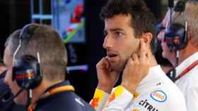 Daniel Ricciardo, durante el Gran Premio de Austria